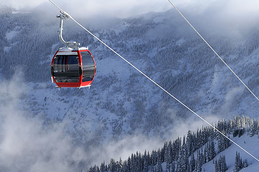 Best Views of Gondolas: Crystal Mountain's Scenic Gondola Ride