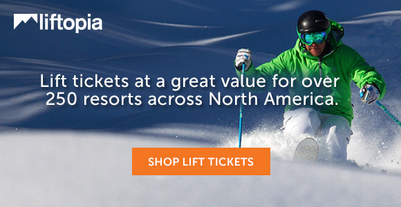 Save up to 80% on lift tickets at Liftopia.com