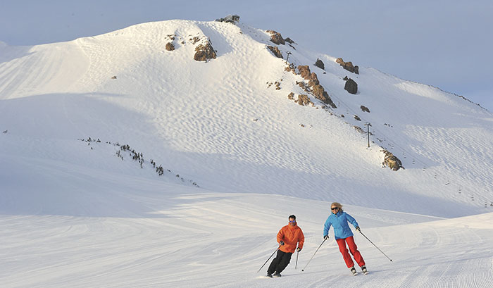 Early Season Skiing: Mammoth Mountain