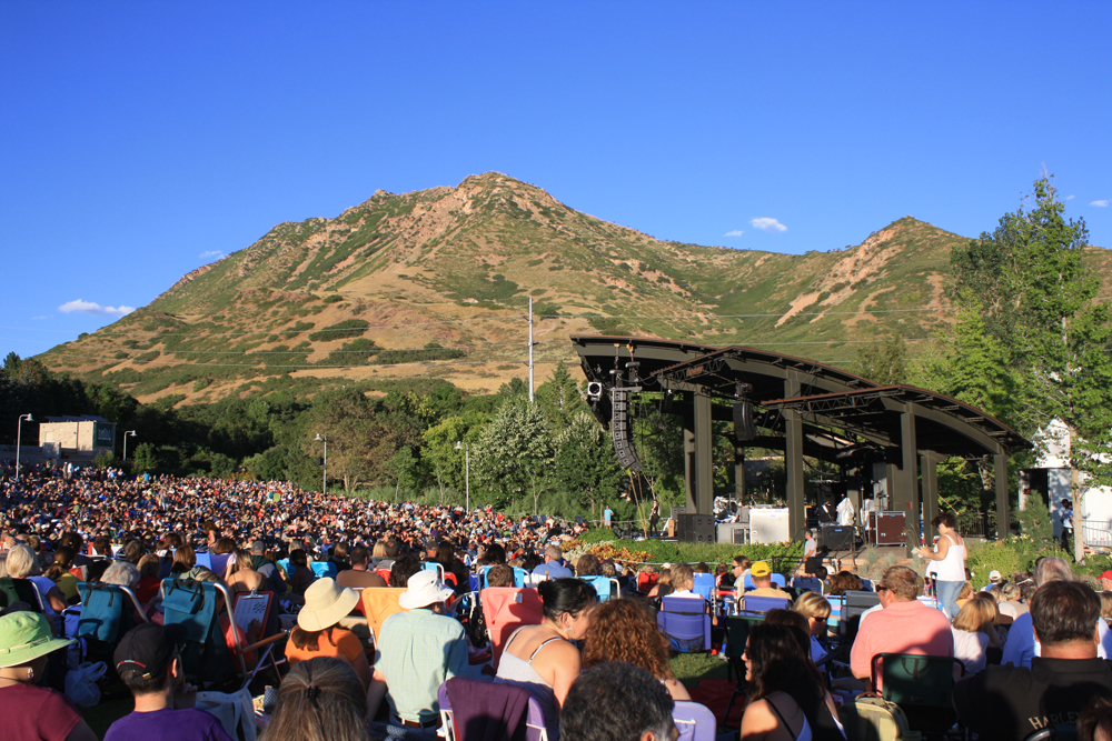 Red Butte Garden concert in the foothills of Salt Lake City