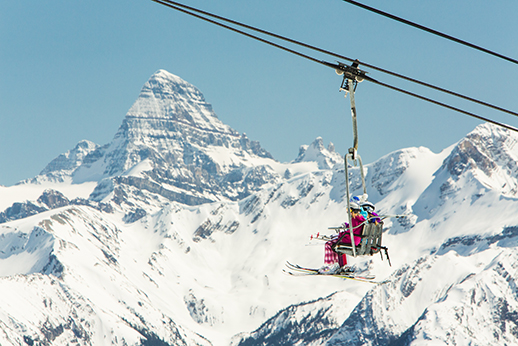 Best Views of Gondolas: Sunshine Village's Tram