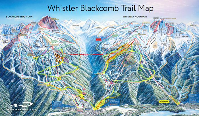 The biggest ski areas in north america right now whistler blackcomb has long been recognised as the largest ski area in north america with one of the biggest and fastest lift networks on the continent publicscrutiny Images