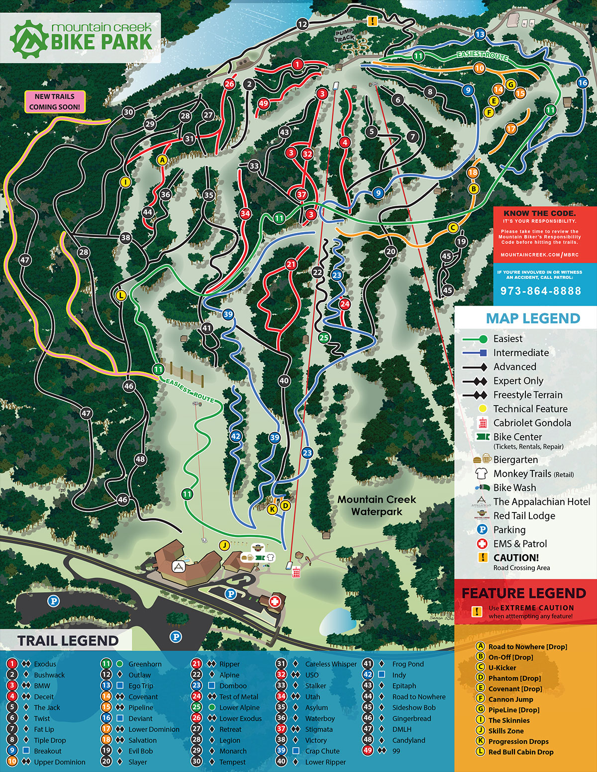 7 Best Mountain Biking Trails At Mountain Creek Bike Park Nj