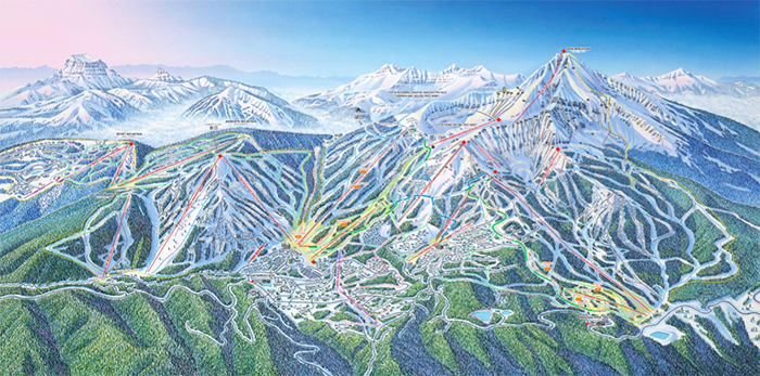 The Biggest Ski Areas In North America Right Now